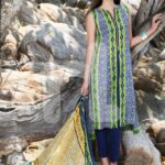 Nisha Fabrics trendy Saavan Collection 2015 by Nishat Linen (6)