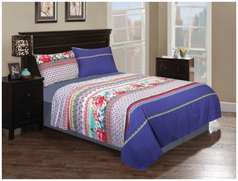 Nisha home decoration bed sheets design 2015 by nishat linen for New bed decoration