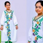 Ochre clothing Jashne Aazadi Pakistan kids Wear Dresses 2015 (1)