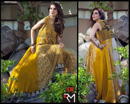 Rozina Munib Chinene Chiffon Dresses 2015-2016 For Women (2)