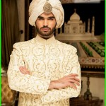 Sherwani Wear Collection 2015 by Nauman Arfeen for Groom (1)