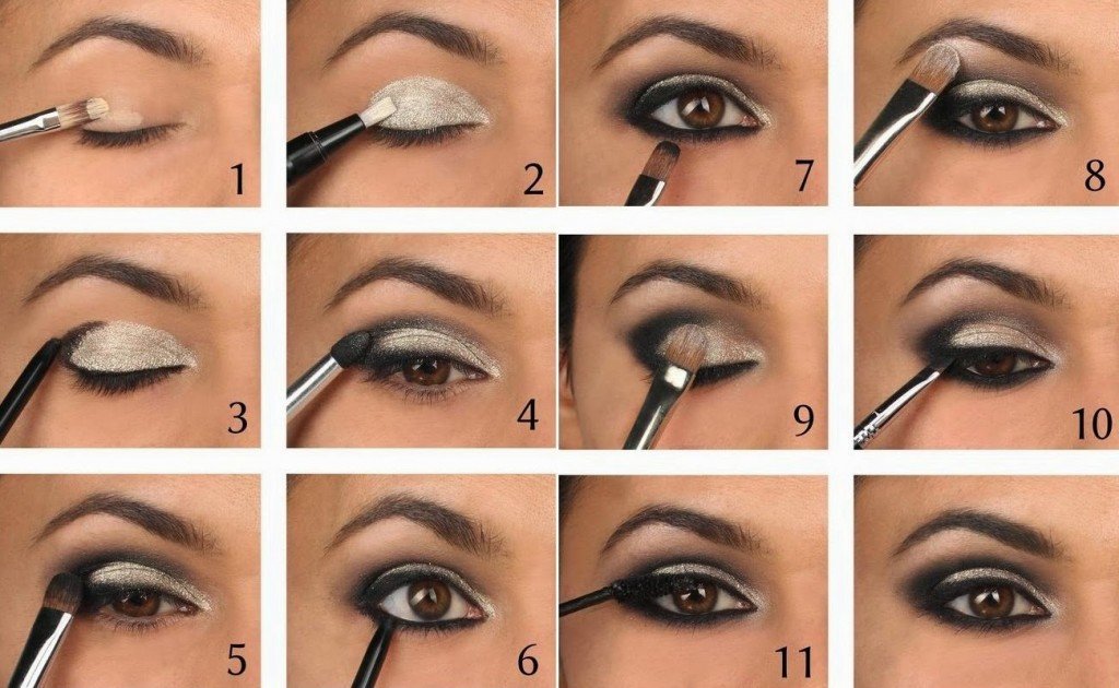 Smokey eye makeup tutorial pinterest