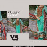 VS Textile Lovely Classic Lawn Dresses 2015 for Girls (7)