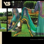 VS Textile Mills Chiffon Wear Women Collection 2015 (2)