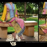 VS Textile Mills Chiffon Collection 2015 For Women (2)