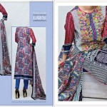 VS Textile Mills Chiffon Wear Women Collection 2015 (1)