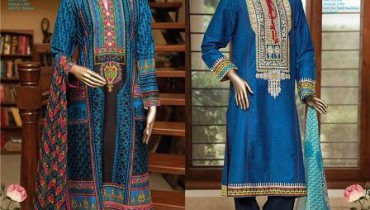 j.Junaid Jamshed Girls Eid wear Kurti 2015-2016 (1)