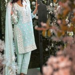 Women wear Mina Hasan Embroidered Fabrics dresses