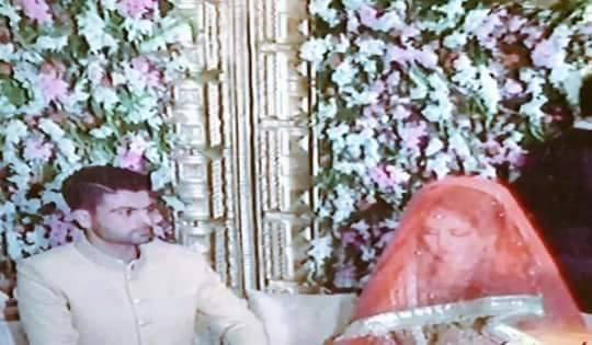 Ahmad shahzad and wife sana murad wedding pictures