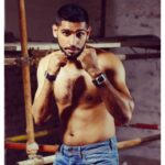 Shirtless Boxing Champion Amir Khan for Pepe Jeans Pakistan