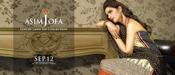 Asim Jofa Luxury Eid Dress Collection 2015 (1)
