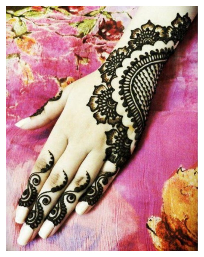 Mehndi Designs For Hands Eid : Hand mehndi designs pics eid ul azha henna fashion