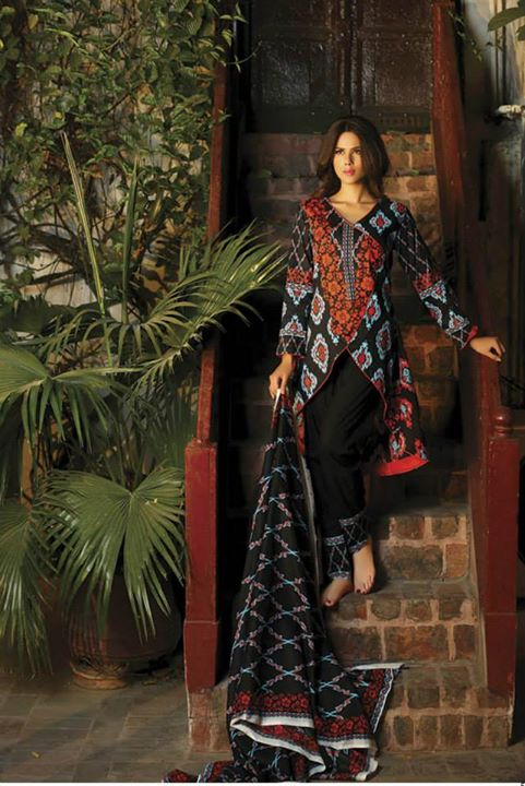 Best wedding wear Deeba Luxury Print Collection 2015