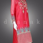 Dhanak Eid ul Azha Festive Design 2015 for Girls (8)