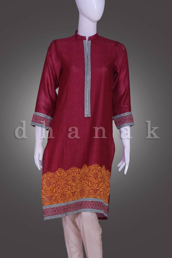 Dhanak Eid ul Azha Festive Design 2015 for Girls (1)