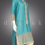 Dhanak Eid ul Azha Festive Design 2015 for Girls (9)
