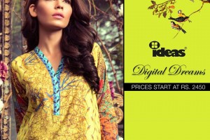 Digital Dreams 2015 2016 dresses by Gul Ahmed Fashion