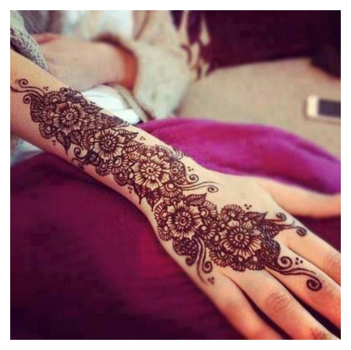 Fashion trends of MEHNDI DESIGNS
