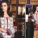 Firdous Eid Chiffon Dress Festive Collection 2015-16 (1)