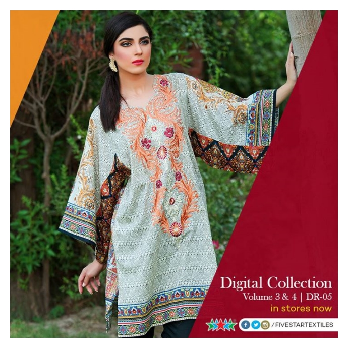 Five Star Classic Collection Vol. 3 Eid ul Azha Dresses 2015 for women (8)