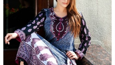 Five Star Textiles Eid Ul Azha Collection 2015 For Women