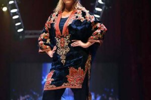 Fozia Hammad Bridal Collection Doha IFF 2015 (2)