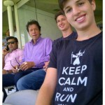 Imran Khan sons
