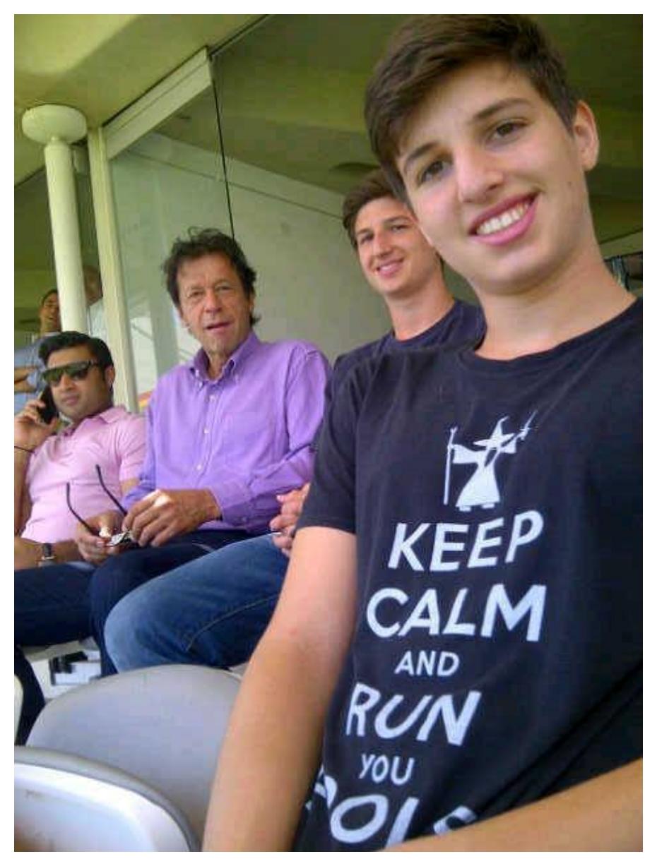 Imran Khan sons