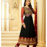 Deepika Cute Anarkali Churidar Suits Design