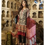 New Khaadi eid ul azha Collection 2015 Cotton 3 Piece Suits for women