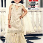 Kids Tops with tights eid fashion lehnga by Origins Kids