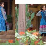 Lala Vintage NewKurti Stole Collection (Semi Stitched) 2015-16 for women