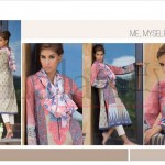 Lala Vintage Kurti Scarf Semi Stitched Collection 2015-16