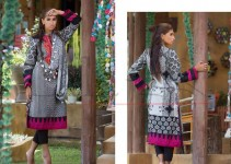 Lala Vintage Kurti Stole Collection (Semi Stitched) 2015-16 for women