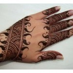 Lovely art of Mehndi Design