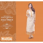 Latest Fall winter lawn by Warda Designer