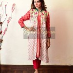 Latest Design of Long shirts by Vibgyor By Syra Rezvan