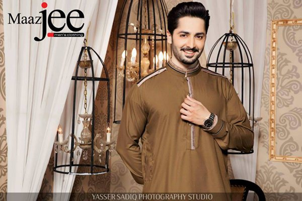 Maazjee Men's Men's Eid Kurta Collection 2015