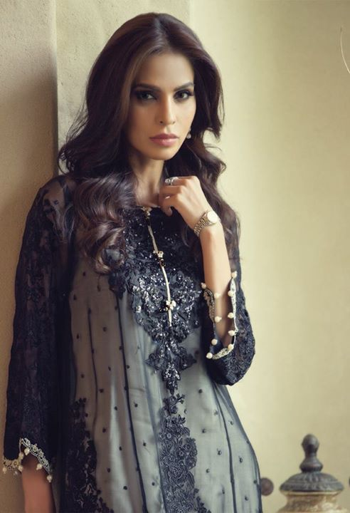 Maria B Mbroidered Eid ul azha Eid collection 2016