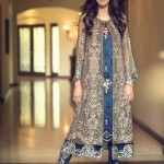 Maria B Mbroidered Best dresses Collection 2015-2016 for Eid ul adha