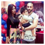 Latest pictures of Model Mathira son Birthday