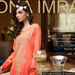 Designer Mona Imran Shaan e Pakistan New Dehli Exhibition Shoot