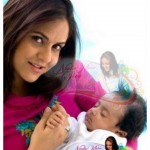 Nadia Khan with New born Baby