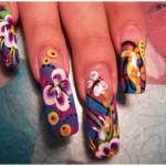 New age girls Nail Art Butterfly picsNail Art Butterfly (13)
