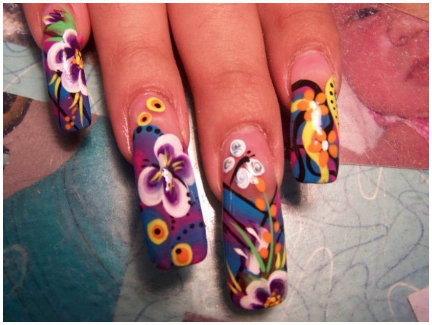 Nice Free Style Nails Inspiration - Nail Paint Design Ideas ...