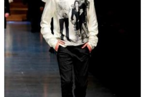 DOLCE & GABBANA Men wear Fall dresses