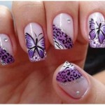stylish Nail Art Butterfly for women