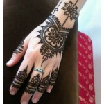 Easy and Half hand MEHNDI DESIGNS 2015-16