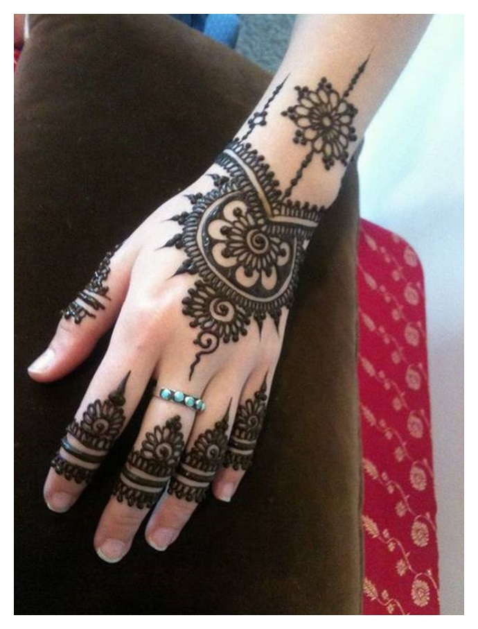 Easy and Half hand MEHNDI DESIGNS 2017