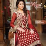 New whit frock Royal Fantasy by Falak Fabrics